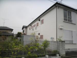 アパートの屋根修理、塗装及び外壁塗装