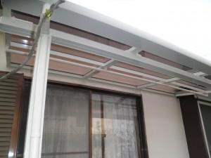 テラス交換工事及び外壁塗装工事