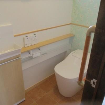 4/3 リフォーム施工事例更新しました。「内装 トイレ交換工事」