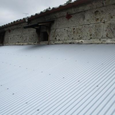 5/ 19 リフォーム施工事例更新しました。「屋根リフォーム カバー工法(重ね葺き)」
