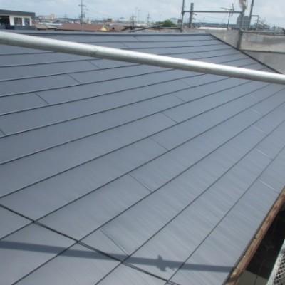 7/21 リフォーム施工事例更新しました。「屋根リフォーム 瓦屋根葺き替え工事  横暖ルーフS」