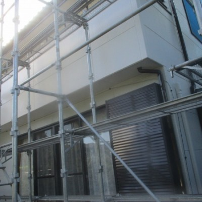 茂木町 外壁塗装 (外壁 ヘーベル)