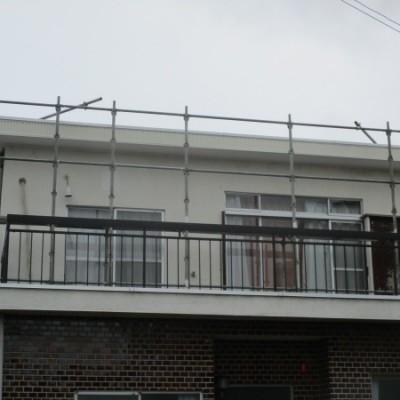 宇都宮市 パラペット補修工事