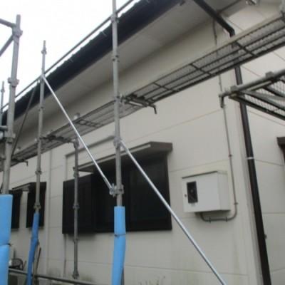 日光市 2棟火災保険適用雨樋交換工事