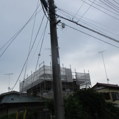宇都宮市 大屋根カバー工法 ニチハ【横暖ルーフS】