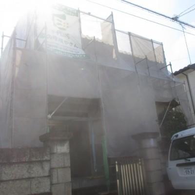 宇都宮市 外壁塗装・軒天補修・雨樋交換工事 (外壁 モルタル)