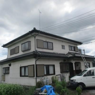 壬生町 屋根漆喰工事