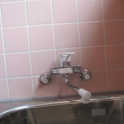 壬生町 洗面化粧台・浴室水栓交換工事