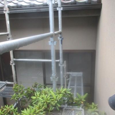 宇都宮市 外壁塗装工事 雨樋スーパーシリコン 外壁アレスダイナミックトップ