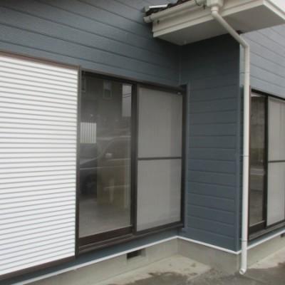益子町  屋根外壁塗装工事 屋根 モニエル瓦 外壁 窯業系サイディング
