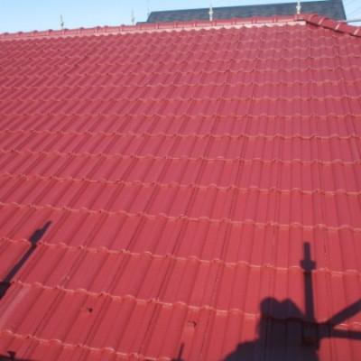 宇都宮市 屋根塗装工事 モニエル瓦