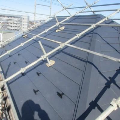 2/20 リフォーム施工事例更新しました。 「屋根カバー工法」