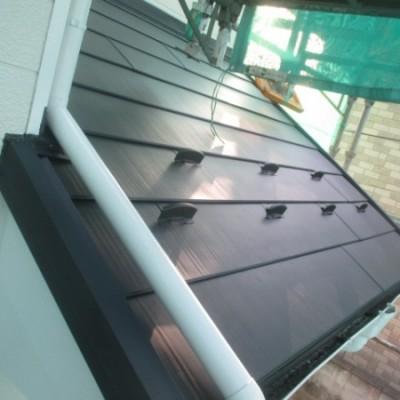 小山市 外壁塗装・屋根カバー工法工事 ***屋根カバー工法