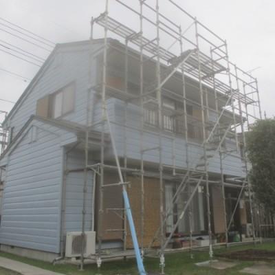 宇都宮市 大屋根棟木交換・鼻隠し補修、塗装工事