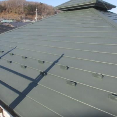 7月8日 リフォーム施工事例更新しました。 「屋根葺き替え工事」