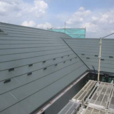 7月2日 リフォーム施工事例更新しました。 「屋根カバー工事」