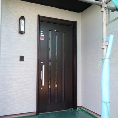 宇都宮市 外壁塗装工事 七日目 外壁中塗り塗装、上塗り塗装、養生撤去