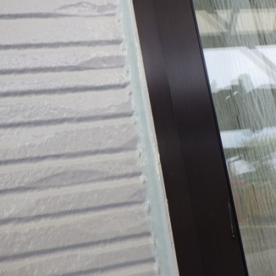 宇都宮市 外壁塗装工事 九日目 雨樋、鼻隠し、竪樋塗装、板金塗装、外壁ダメ直し