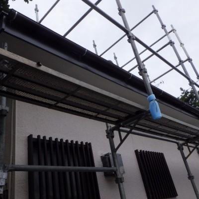 宇都宮市 雨樋交換・破風板金取付工事 完工