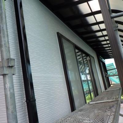 宇都宮市 外壁塗装工事 十日目 完工