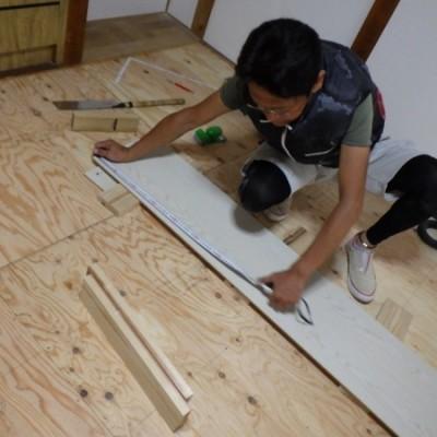 内装リフォーム工事  in宇都宮市 「和室床上げ・フローリング貼り」
