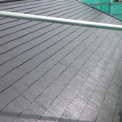 宇都宮市 屋根塗装 テラス一枚交換