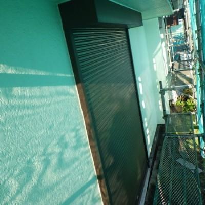 宇都宮市 屋根・外壁塗装工事 着工 高圧洗浄